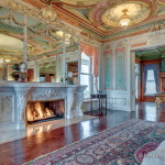 Grand Marble Fireplace