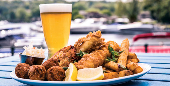 The Abbey Waterfront Fish Fry Review