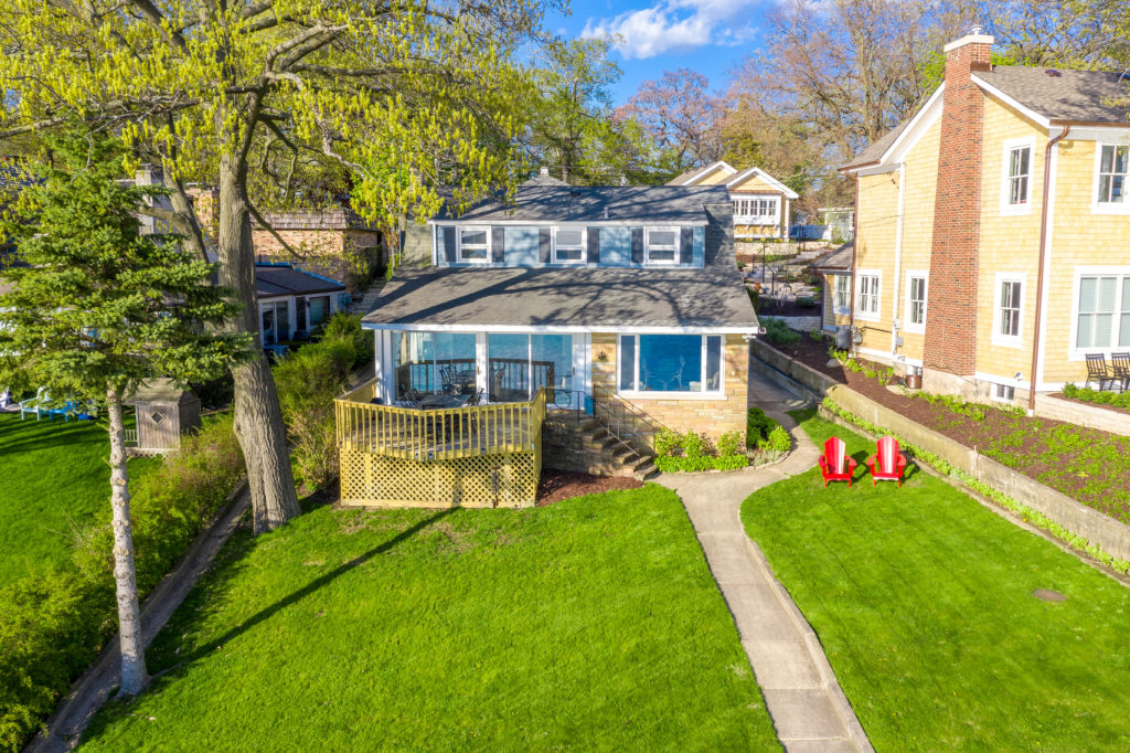 a3d850be29a966 246 Circle Parkway is a capable lakefront home designed in the cottage  style of many of the most desirable Cedar Point homes. Here you ll find  three ...